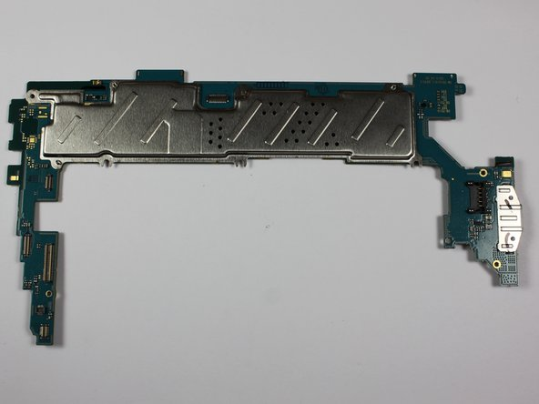 Image 3/3: Once all screws have been removed, the motherboard can now be removed and replaced with a new one.