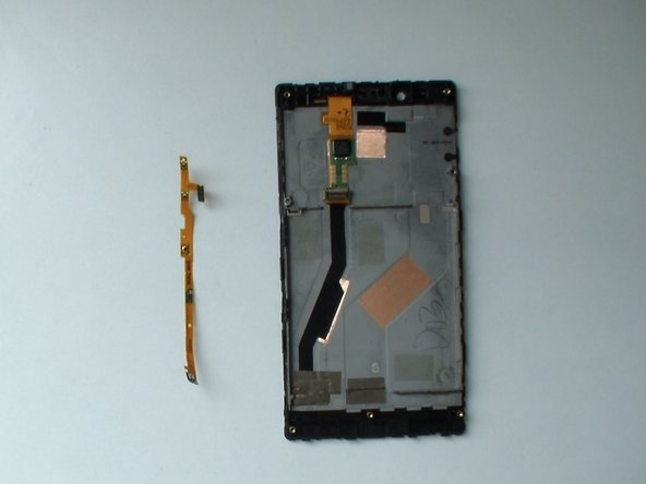 Nokia Lumia 720 Power, Volume and Camera buttons flex cable Replacement