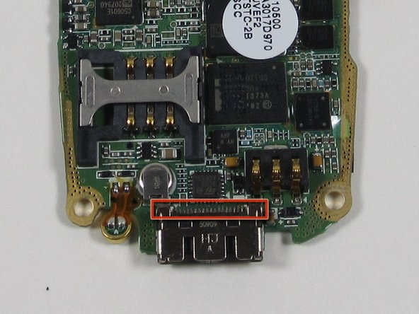 Solder connections are accessable to replace the Chargers Jack.