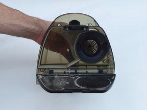 Dustbin fiber collector