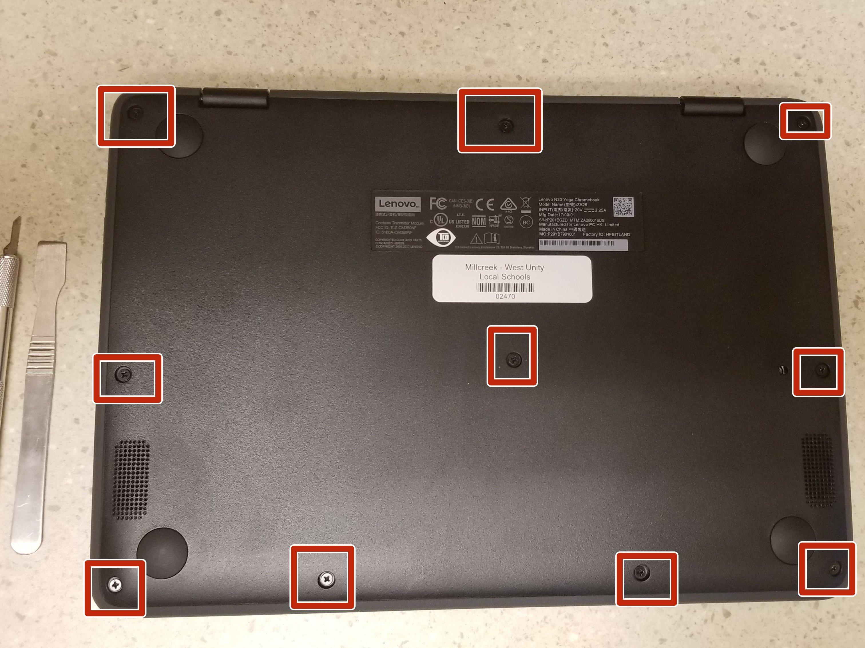 Lenovo N23 Yoga Keyboard Replacement - iFixit Repair Guide