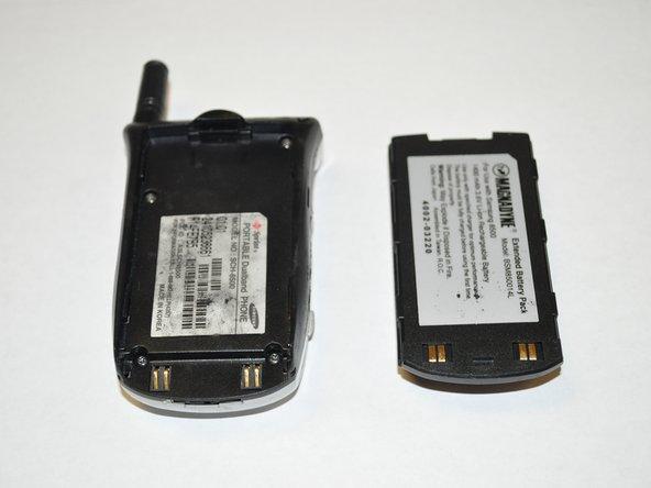 Remplacement de la batterie du Samsung SCH-8500