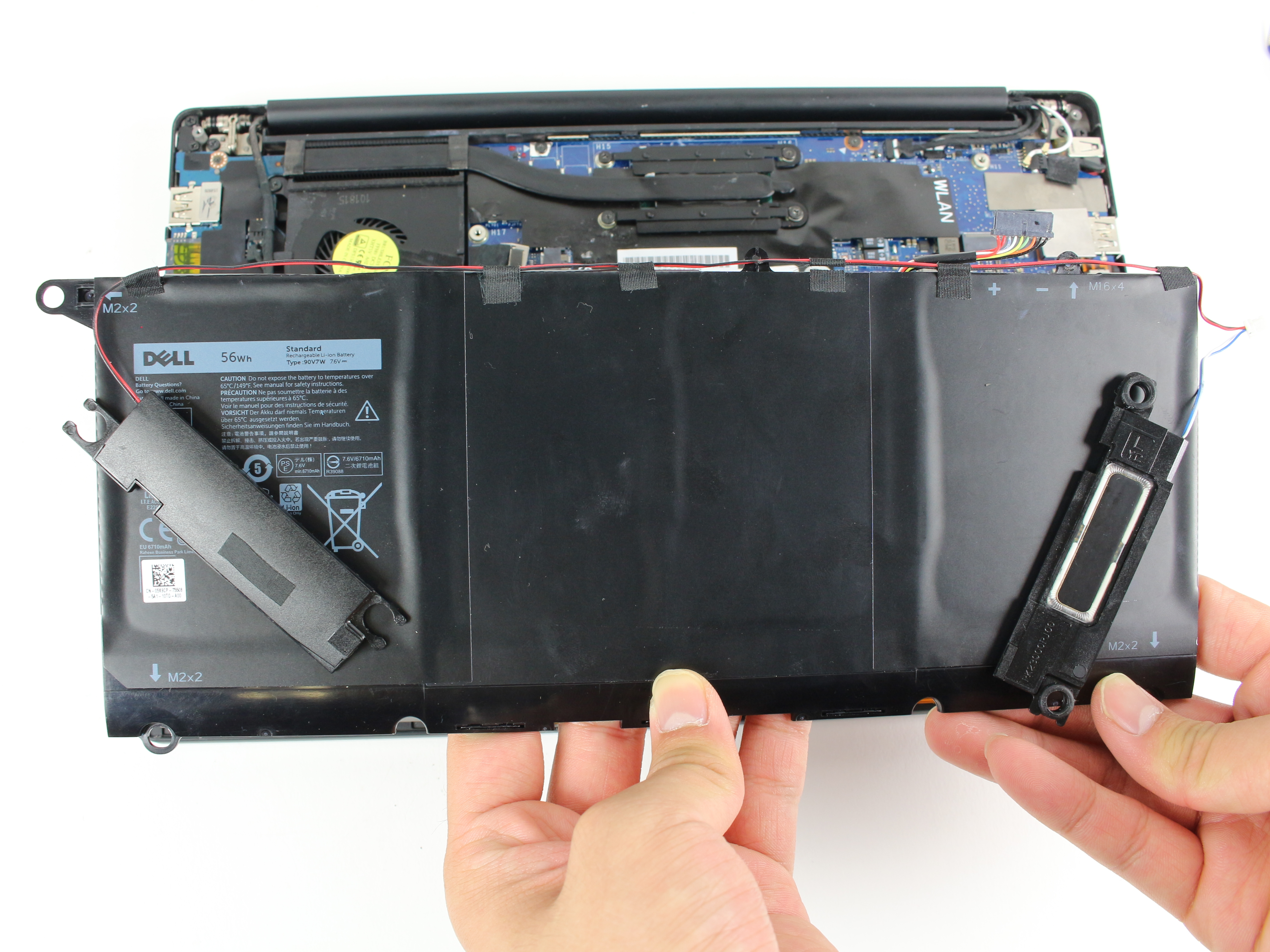 Dell XPS 13 9350 Battery Replacement