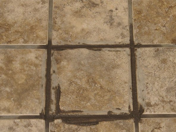 If any bubbles or gaps form in the grout while removing excess, add more grout and repeat the cleaning process.