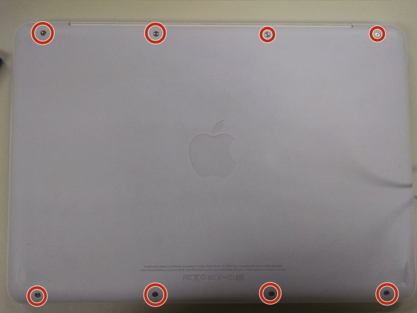 Take apart of Macbook 2009-2010 Unibody White Disassembly