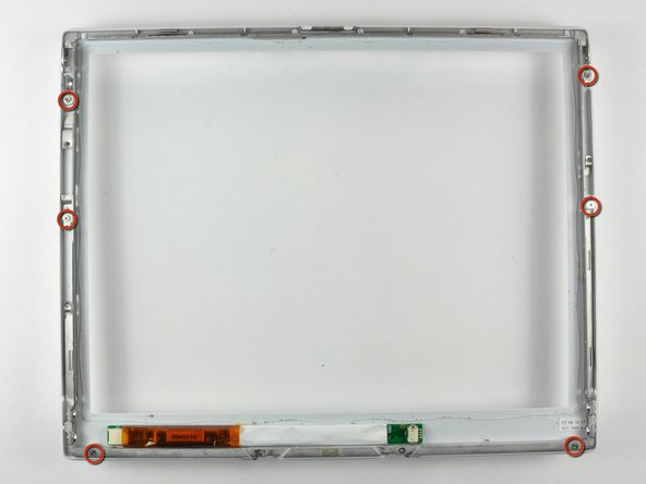 "iBook G4 12"" 1.33 GHz Clutch Hinges Replacement"