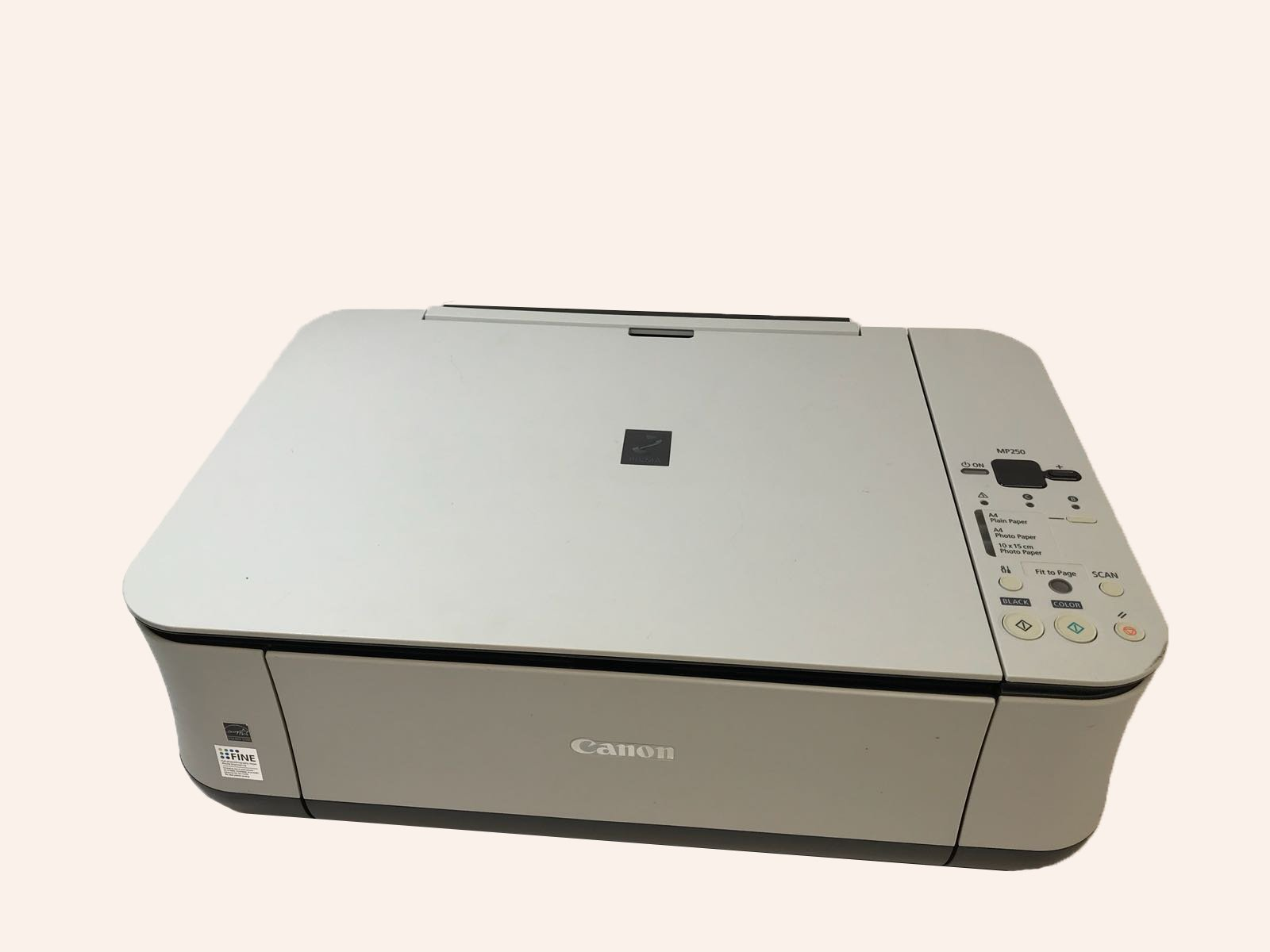 MP250 SCAN DRIVER FREE
