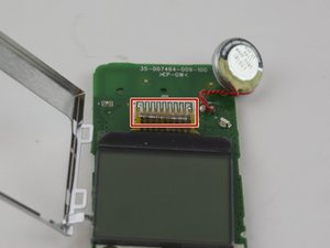 LCD Screen on Handset