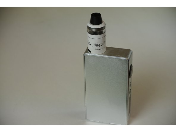 Replace atomizer top and enjoy!