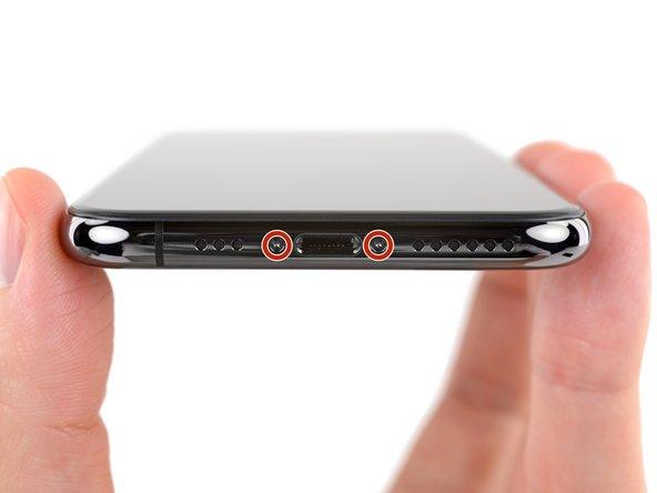 Remplacement des vis Pentalobe de l'iPhone XS
