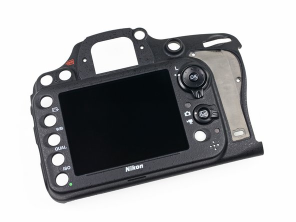 Image 1/1: If you scratch or crack the display glass on an older Nikon DSLR like the D90, it's possible to find an inexpensive replacement and fix it yourself. With the inseparable glass, though, D600 users will definitely want to opt for some type of screen protection.