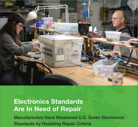 Green electronics standards repair