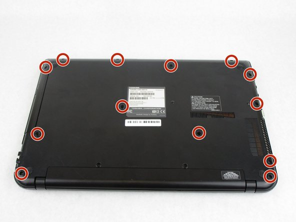 Remove the thirteen 7 mm Phillips screws holding the back cover using the PH1 bit and Magnetic Driver.
