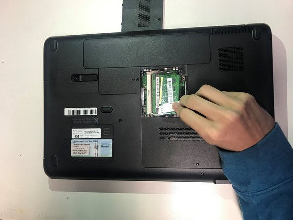 Carefully insert the new RAM, and ensure that it is placed in the correct slots.