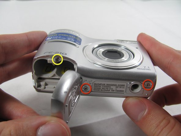 Image 1/3: Six screws are 3.6 mm.