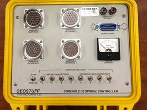 Repair Down-hole geophone controller ( Manufactured by  GEOSTUFF )