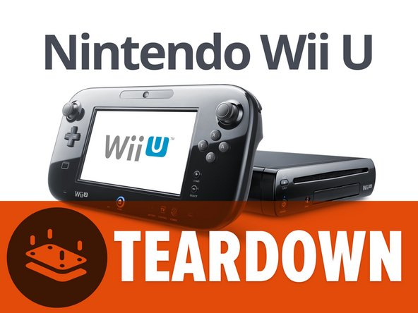 nintendo wii u teardown ifixit. Black Bedroom Furniture Sets. Home Design Ideas