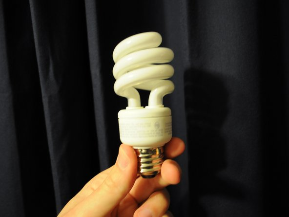 Procure a new lightbulb, either from a hardware store, or wherever it is you keep new ones.