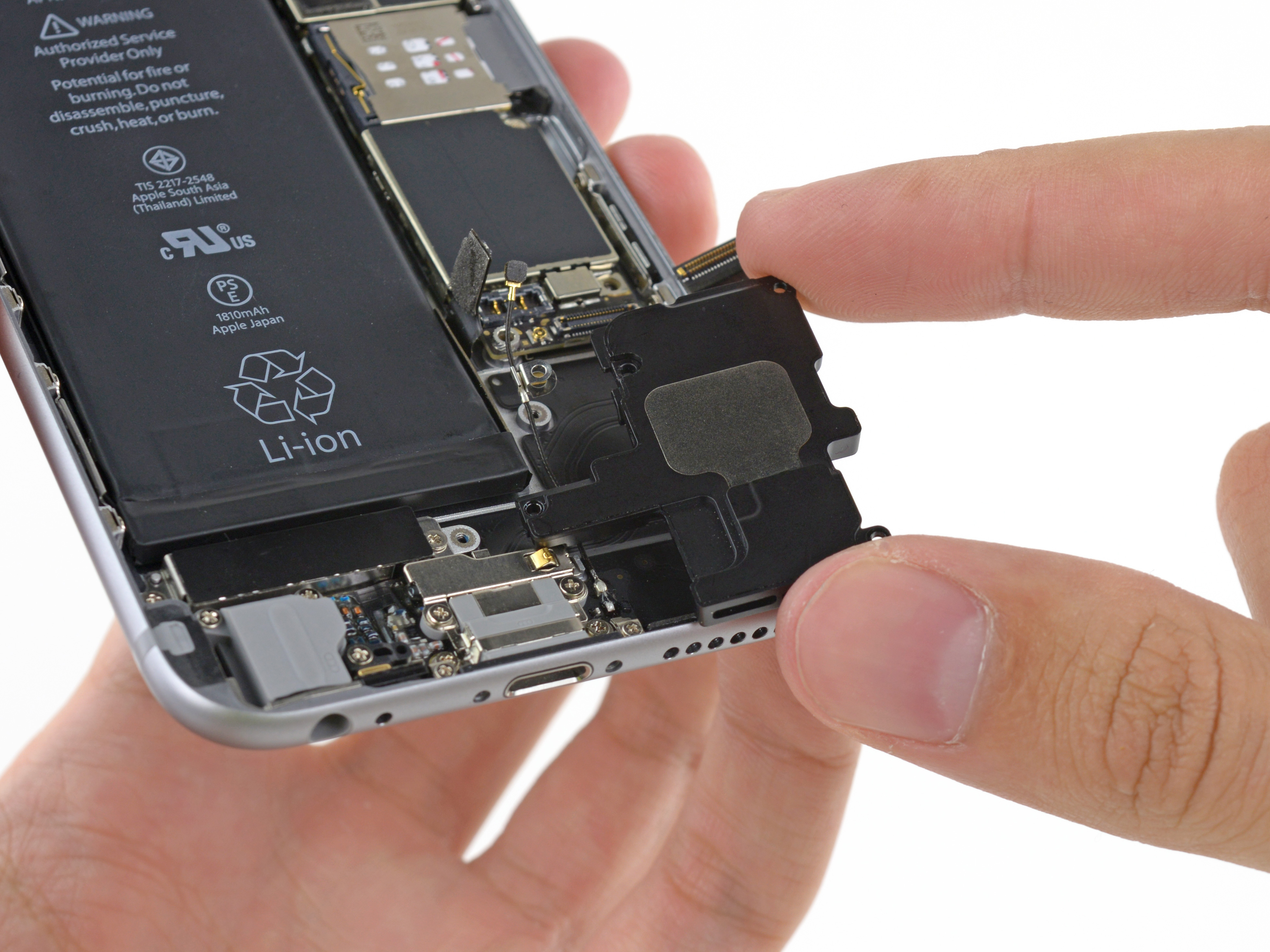 iphone 5s speaker not working iphone 6 speaker replacement ifixit repair guide 7440