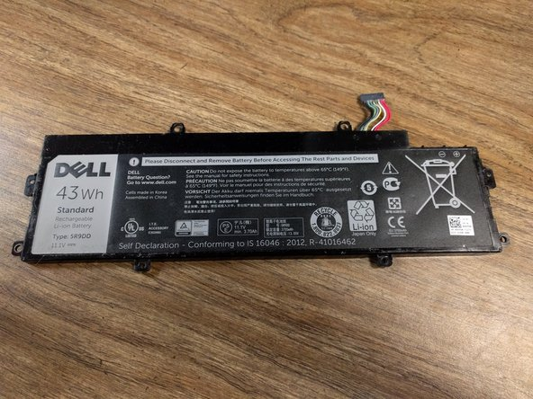 Dell Chromebook 11-3120 Battery Replacement