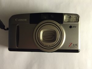 Canon Sure Shot Z115 Caption Repair