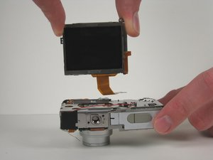 Canon PowerShot SD200 LCD Screen Replacement