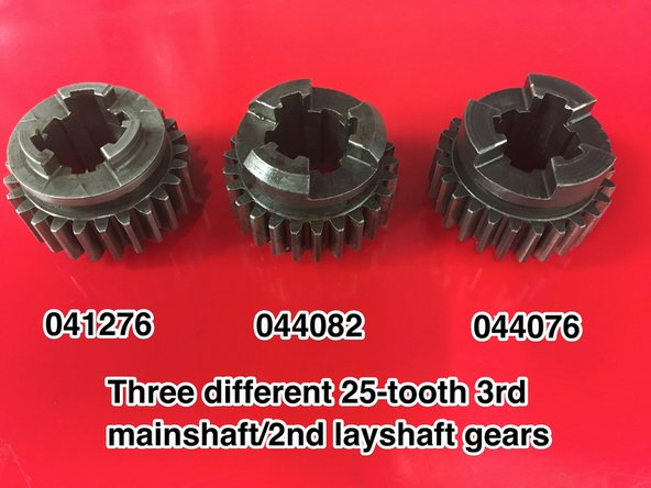 The other gears should be in usable condition (unless the gearbox has been run with wet oil). Check the case hardening for pitting and the bushes for wear.