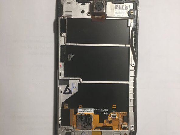 Once motherboard is removed you have successfully removed the screen from the device.