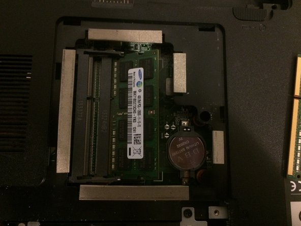 Insert the lowest ram stick first by inserting it at a 30 degree angle then push down on it