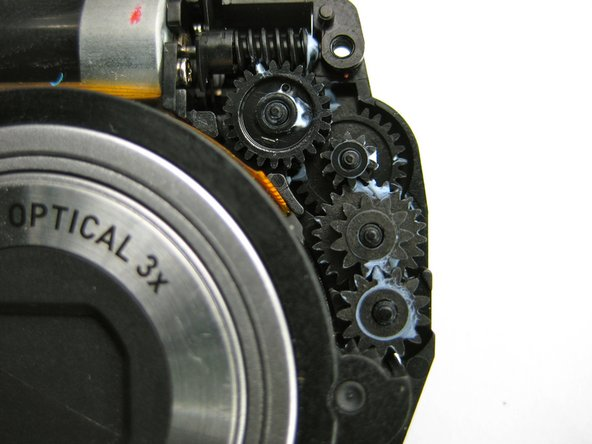 "Casio Exilim EX-Z70 Lens Gear Cleaning ""Lens Error"" Replacement"