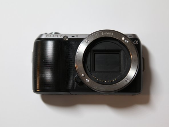 Sony Alpha NEX-C3 Lens Mount Replacement