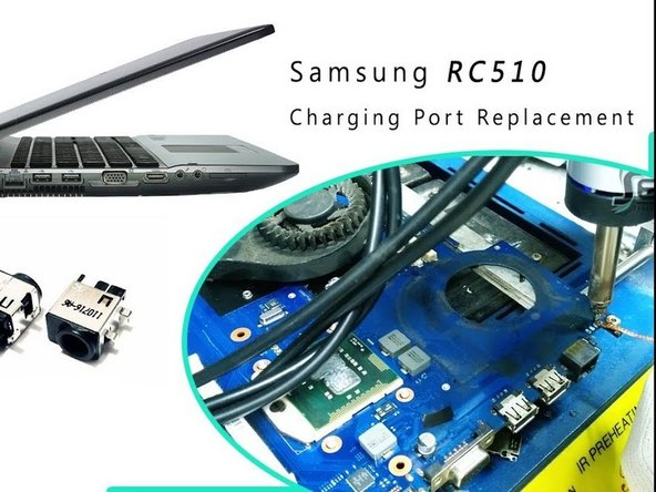 Samsung RC512 Charging Port Replacement