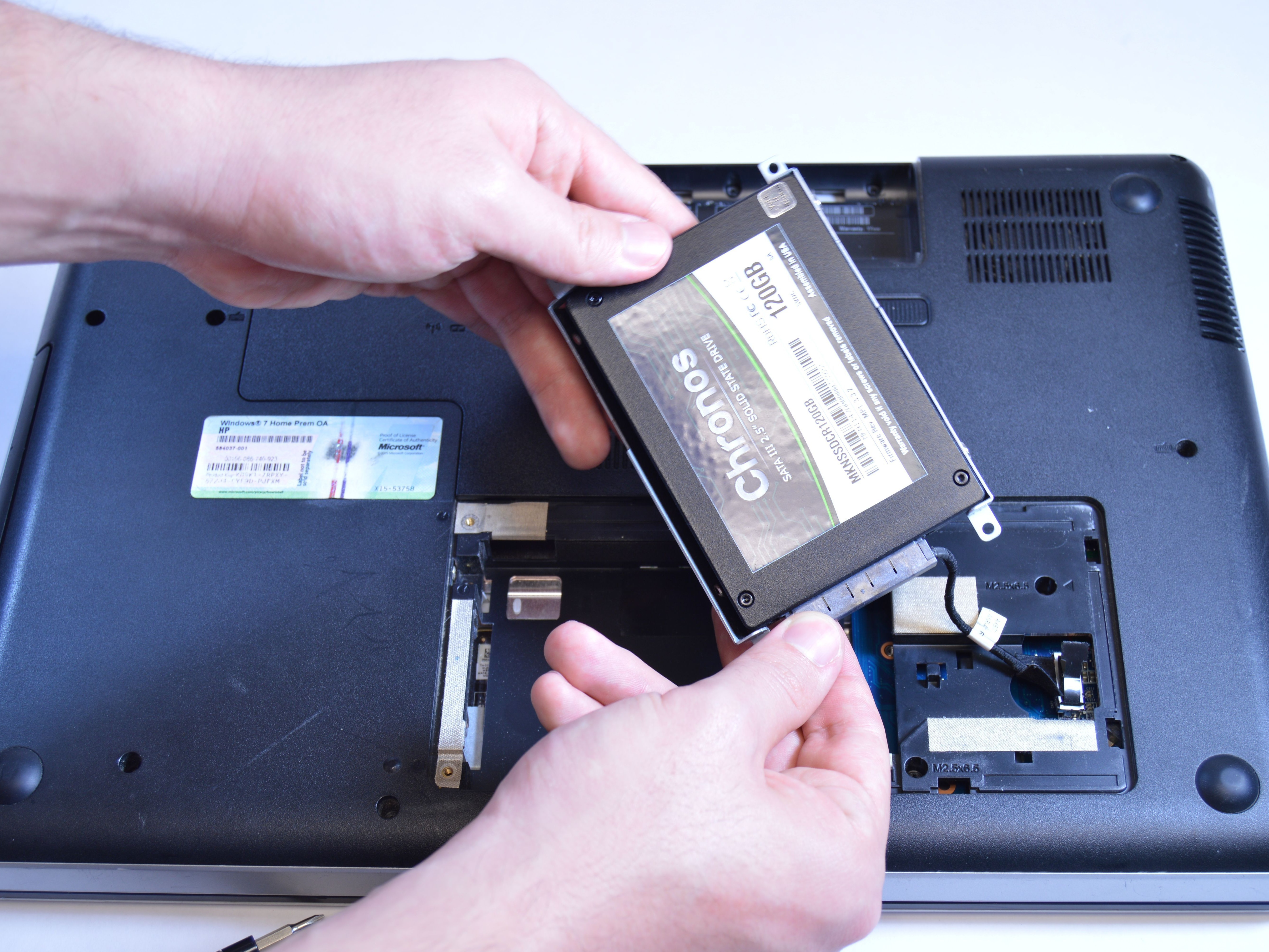 hp g62 223cl hard drive replacement ifixit repair guide rh ifixit com