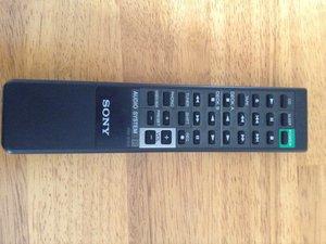 Sony Audio System RM-S100 Remote Teardown