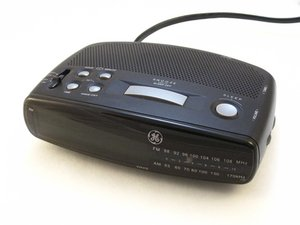 GE 7-4836B Alarm Clock AM-FM Clock Radio Troubleshooting