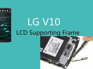 LCD supporting frame