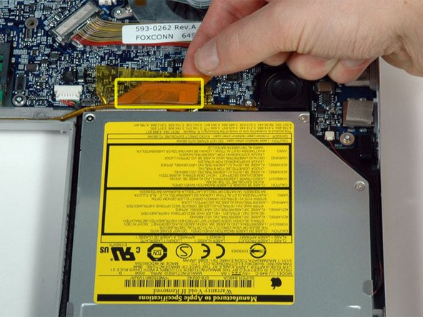 "MacBook Pro 17"" Models A1151 A1212 A1229 and A1261 Optical Drive Replacement"