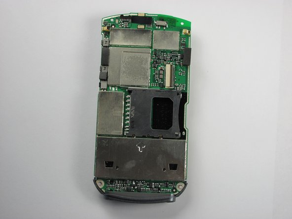 Ta Da! You now have the logic board separated from the phone! Here is what it should look like, on both sides.