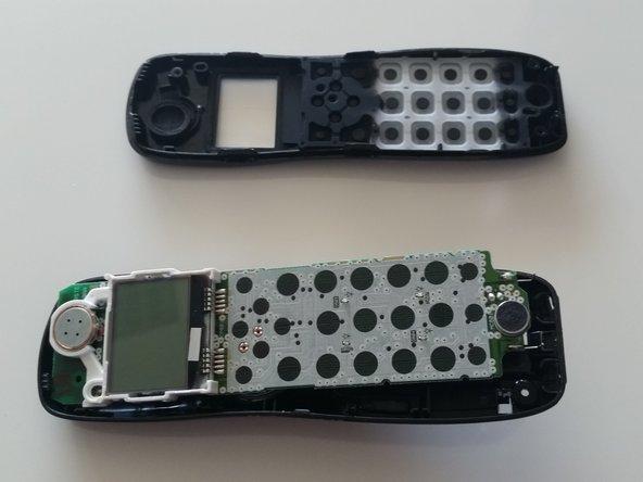Uniden D1483-3BK Handset Case Separation