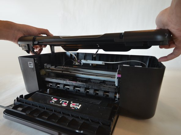 Disassembling HP Deskjet F4480 Top Lid