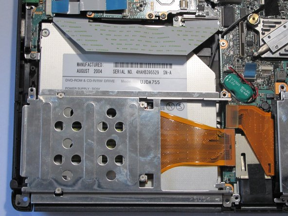 Sony Vaio VGN-S260 Optical Drive Replacement