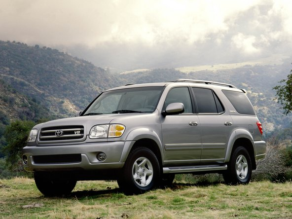 Qqhhhxmcqhn Cgbg on 2002 Toyota Sequoia Limited
