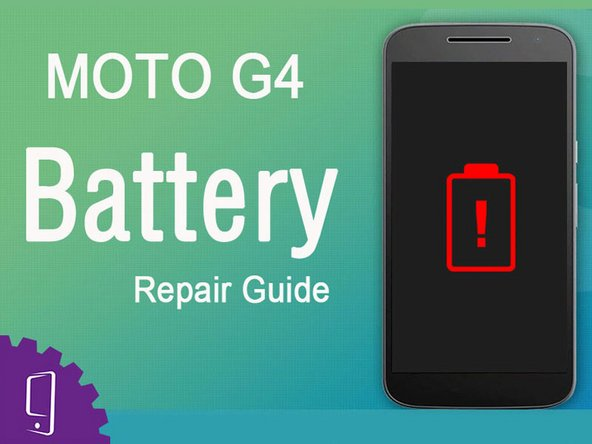 Moto G4 Battery Replacement