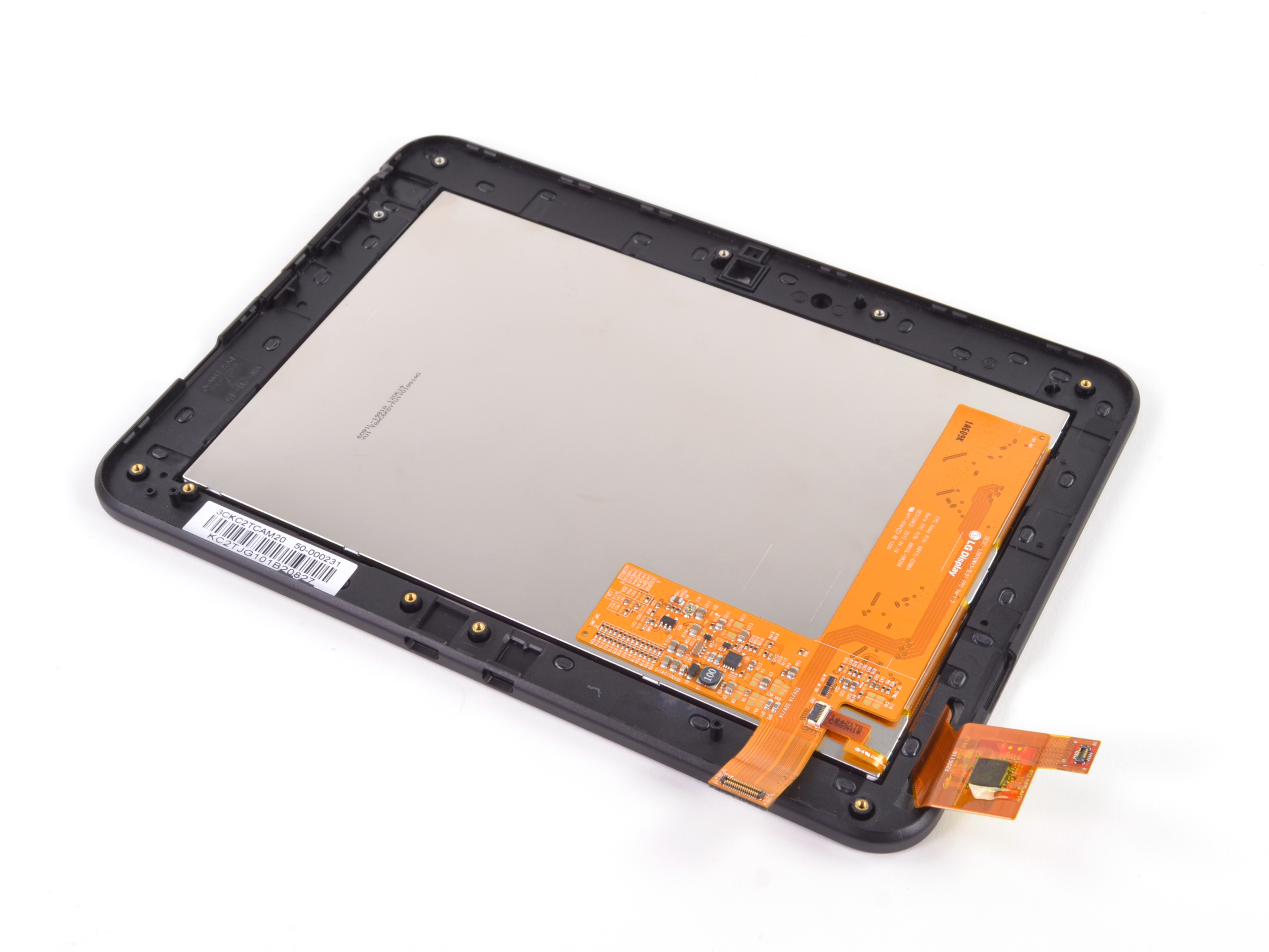 Kindle Fire Hd Repair Ifixit Wiring Diagram For A Display Assembly Front Glass And Lcd