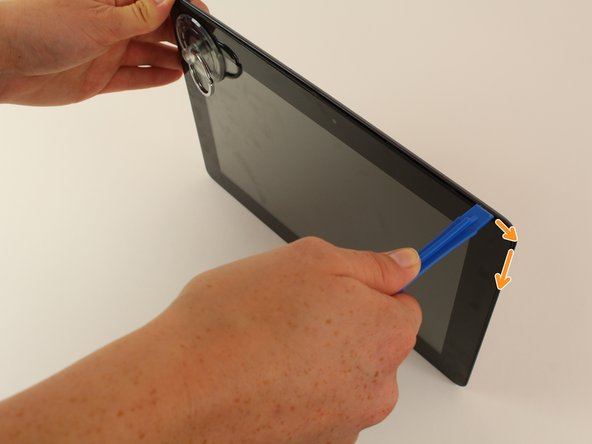 Image 3/3: It is also normal to hear adhesive separating, as a small amount is used to help secure the screen.