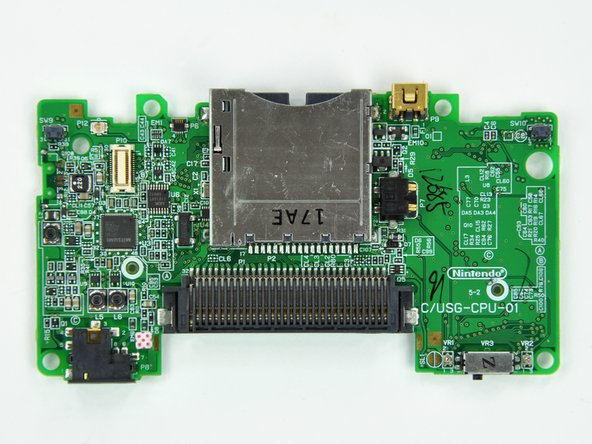 Nintendo DS Lite Motherboard Replacement