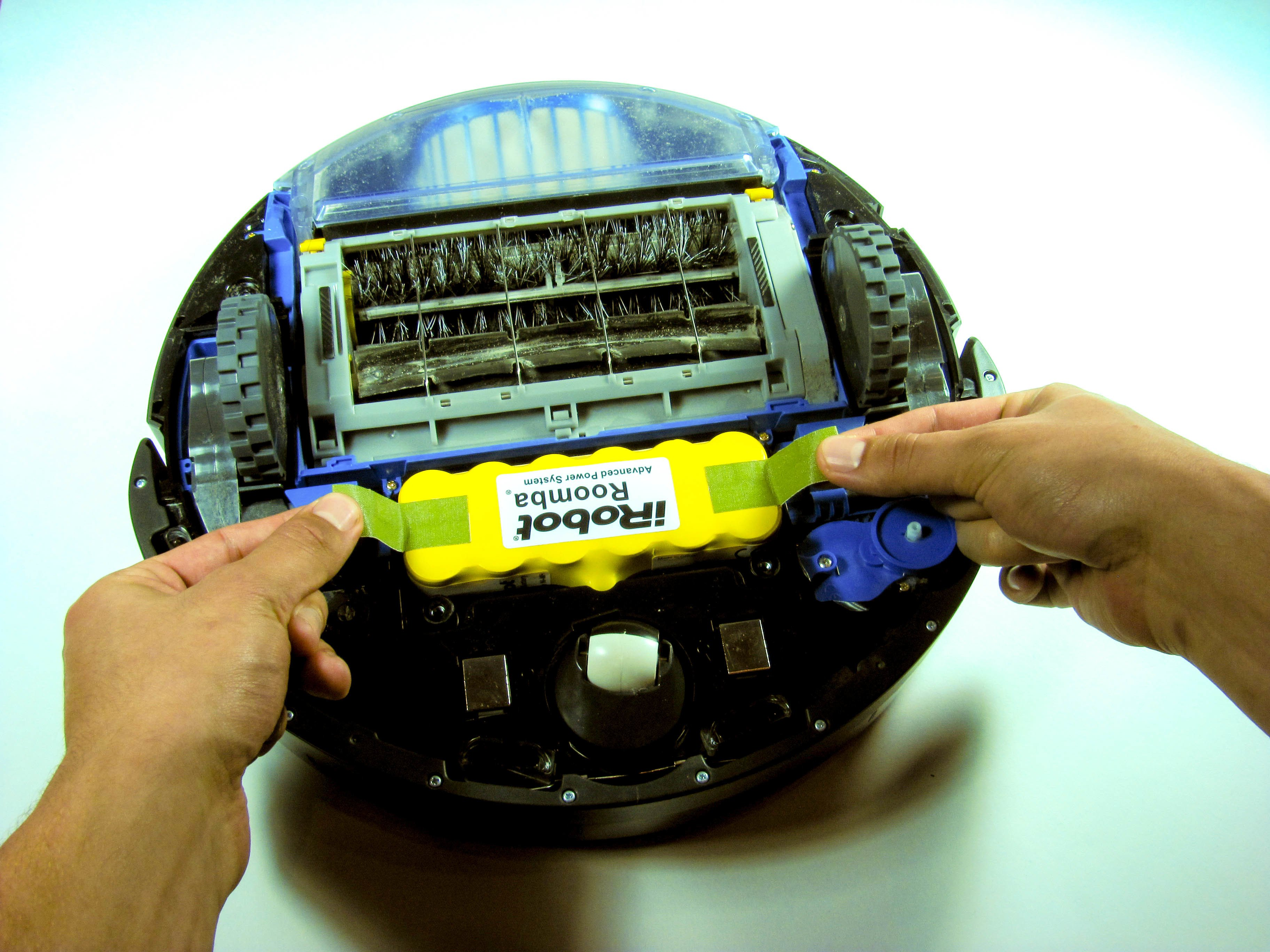 Irobot Roomba 650 Battery Replacement Ifixit Repair Guide