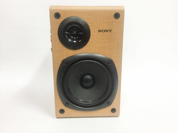 Sony SS-CCP1 Speaker Replacement