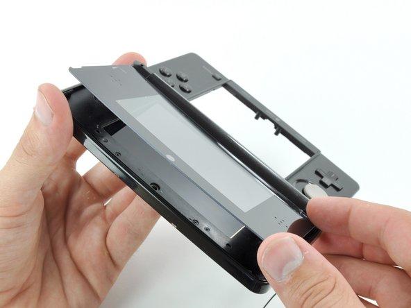 Nintendo 3DSの上部ディスプレイフロントパネルの交換