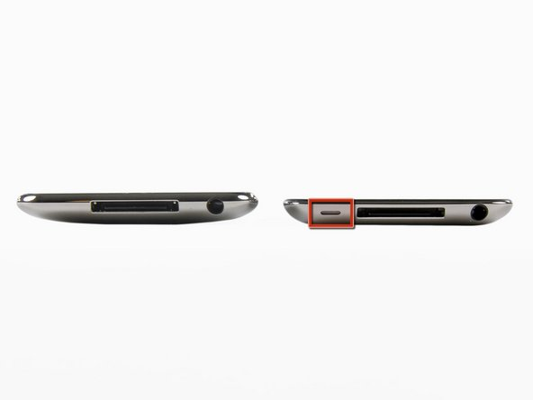 Image 1/2: The new Touch has once again been slimmed-down. Similar to the iPhone 4, the back of the Touch is now flat. Unlike the iPhone 4, the iPod Touch still features the same shiny stainless steel back that has graced every iPod Touch.